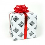 Interactive Gift Wrapping Paper