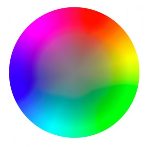 Color Hue Wheel