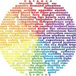 Color Wheel Typography