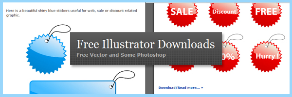Free4Illustrator - Free Vector Art Downloads