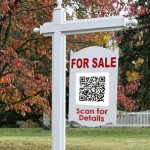 For Sale Sign with QR Code