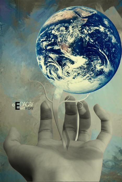Earth Day by saki jr