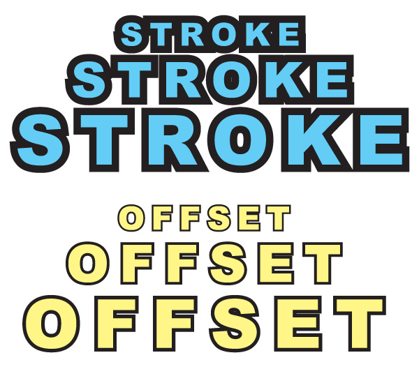 Difference between Stroke and Offset Path in Adobe Illustrator