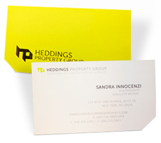 Custom Die Cut Business Cards