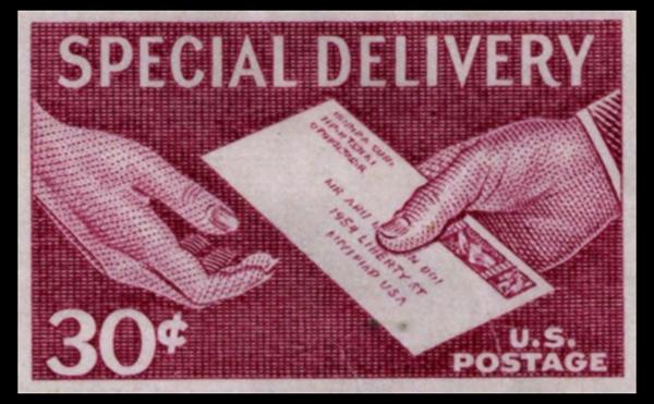 Postage Stamp Special Delivery EDDM