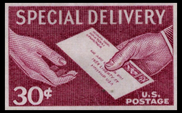 Postage Stamp Special Delivery EDDM