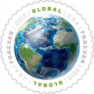 USPS Global Forever Stamp 2013