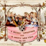 First Christmas Card - John Calcott Horsley and Sir Henry Cole