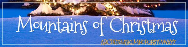 Mountains of Christmas Free Font for Commercial Use