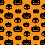 Vector Halloween Patterns by VectorPatterns UK