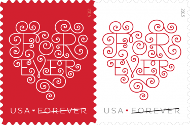 Just In Time For Valentines: Forever® Hearts USPS Stamps