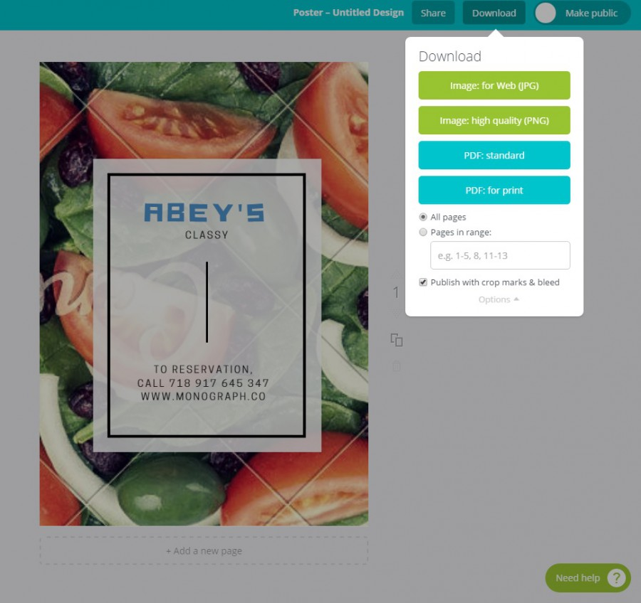 canva   graphic design tool for those who don't have photoshop