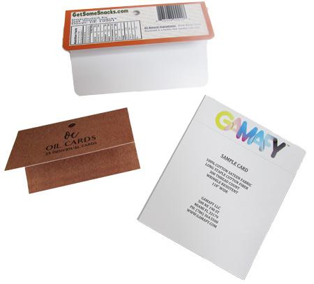 uneven fold header cards | mmprint.com