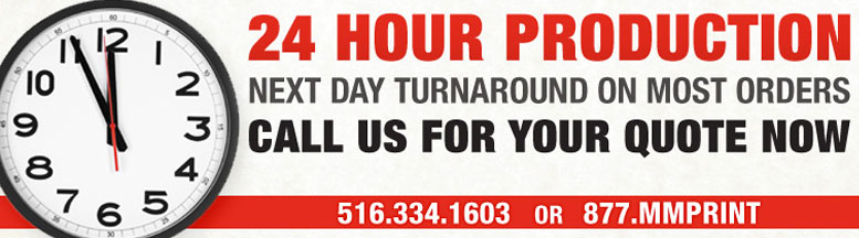 24 Hour Rush Printing Services