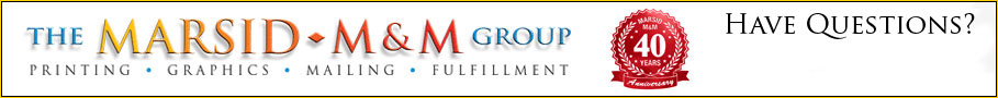 The Marsid M&M Group Logo Header
