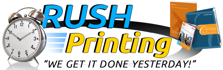 Rush Printing Services