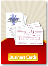 Church and Religious Organization Business Card Printing