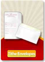 Church and Religious Organization Tithe Envelope Printing