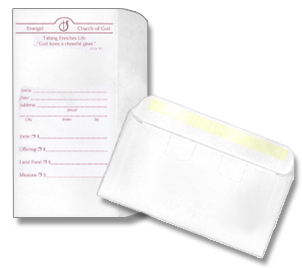 Church offering envelop printing for Fundraising envelope template