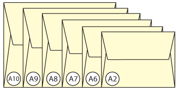 Announcement Envelope Sizes