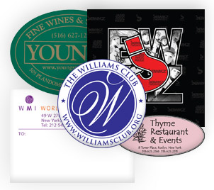 one color, two color, and full color printing of Digital Labels