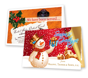 one to full color Greeting and Holiday Cards