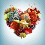 Valentine's Day Design Inspiration and Free Downloads