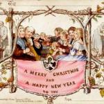 First Christmas Card - John Calcott Horsley and Sir Henry Cole