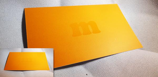 How To Set Up A Spot UV Business Card Design